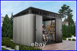 Keter Artisan 11ft x 7ft / 3.2 x 2.1m Garden Grey Storage Shed Floor Included