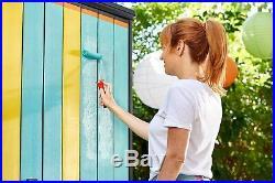 Keter High Store Outdoor Storage Shed Plastic Garden Storage 10 Year Warranty