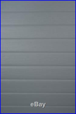 Keter Manor Garden Shed 4 x 6 Grey Plastic 5 Year Guarantee Bike Store etc