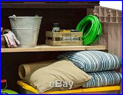 Keter Plastic Store it Out Wheelie Bins Bike Tool Shed Midi Garden Storage Box