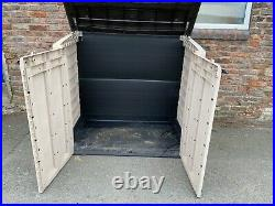 Keter Store It Out Large Garden Storage Unit Shed Plastic Weatherproof Bike Tool