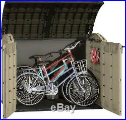 Keter Store-It Out Ultra Outdoor Plastic Garden Storage Bike Shed 177x113x134 Cm