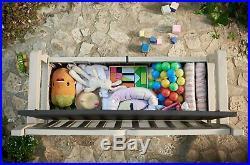 Outdoor Storage Bench Garden Patio Furniture Container Sofa Seat Box