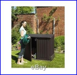 Plastic Storage Shed Garden Midi Store it Out Box Keter Patio Tools Container UK